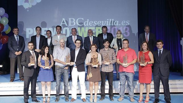ABCdesevilla premia a los más destacados de Internet