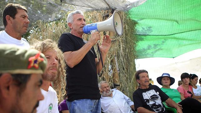 El portavoz del SAT, Diego Cañamero, ha vuelto a tomar partido en un asalto a la finca Las Turquillas pese a estar condenado a siete meses de cárcel por un hecho similar en 2012