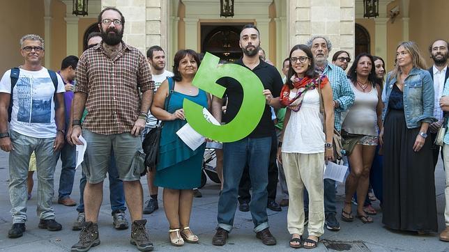 Presentación de Ganemos en Sevilla