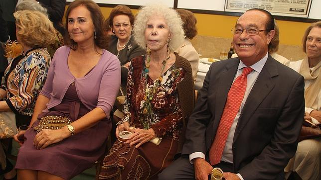 Carmen Tello, doña Cayetana y Curro Romero