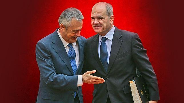 Manuel Chaves y José Antonio Griñán