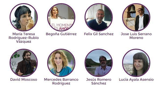 Estos son los cabezas de lista que el aparato de Podemos quiere presentar a las elecciones