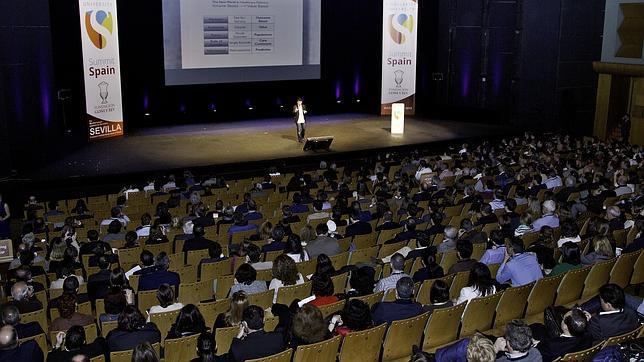 Una de las sesiones del Singular University en Sevilla