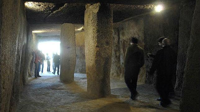 Imagen de los dólmenes