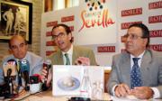 La presentación del libro se realizó en uno de los restaurantes colaboradores. Marisa García