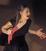 Marina Heredia certificó sus buenas maneras en la Alameda. ARCHIVO