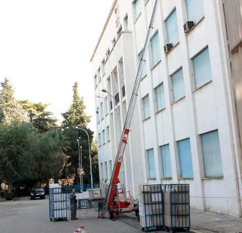 Los últimos fondos documentales de Altadis abandonan su sede
