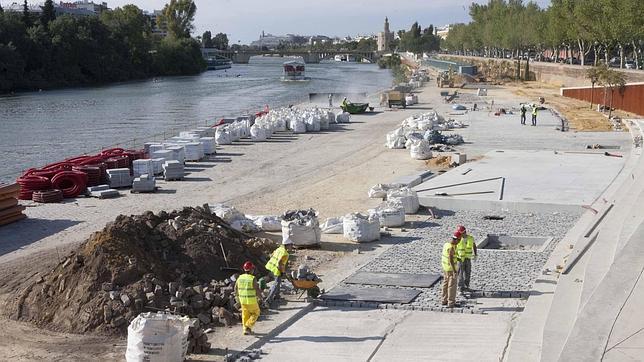 Las obras del Muelle de Nueva York finalizarán este mismo mes
