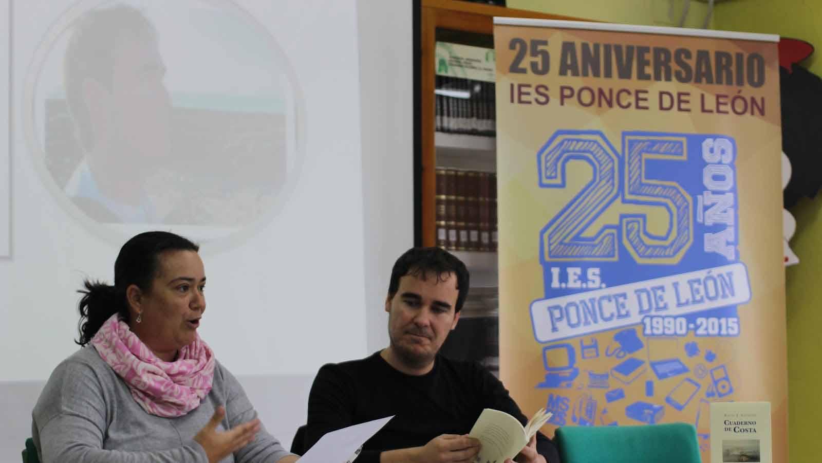 Uno de los actos celebrados en el centro educativo utrerano/ I.P.L.