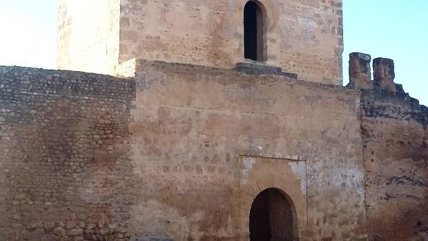 La torre Entrepatios es una de las más interesantes del Castillo por su función original de acceso a la fortaleza