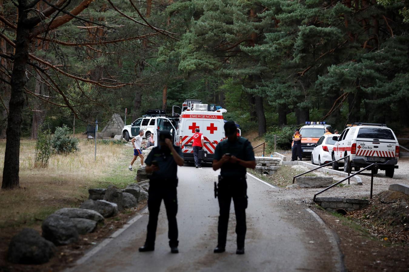 Se ha hallado el coche de Blanca Fernández Ochoa esta mañana en un paraje entre Cercedilla y el Valle de la Fuenfría, en la Sierra de Madrid
