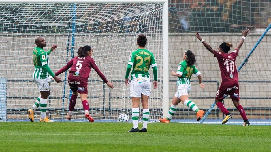 Dura derrota del Betis Féminas ante el EDF Logroño (1-3)