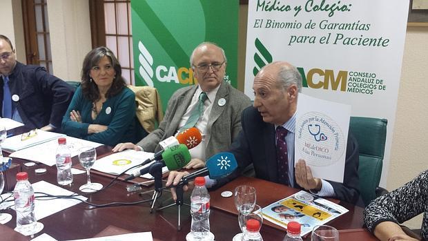 Rueda de prensa de los representantes del Foro de la Atención Primaria
