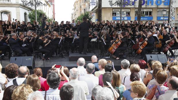 Concierto de la Orquesta en las Tendillas