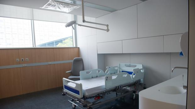 Una de las habitaciones de un centro hospitalario