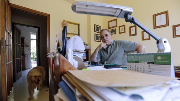 Diego Martínez Torrón, durante una entrevista con ABC Córdoba