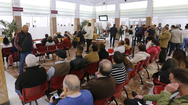 Oficina de atención al ciudadano del Ayuntamiento de Córdoba