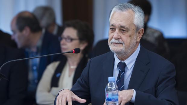 José Antonio Griñán, expresidente de la Junta de Andalucía, durante su declaración en el juicio del caso ERE
