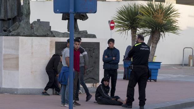 Menores inmigrantes no acompañados
