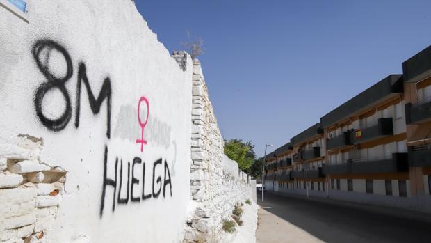 Residencial en el que vivió como inquilino Antonio Manuel Guerrero en Pozoblanco