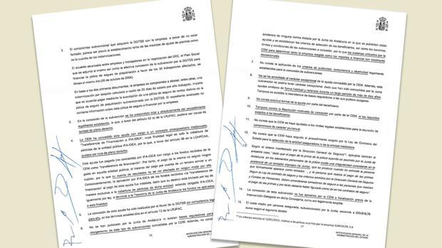 La Intervención General de la Administración del Estado (IGAE) enumera en un informe 21 irregularidades detectadas en el ERE que la Junta concedió al Grupo Joly, «nulo de pleno derecho»