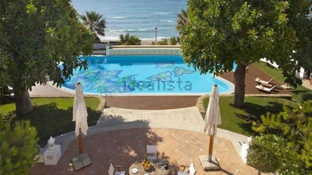 La piscina de la casa más cara de España