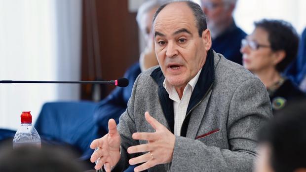 Juan Márquez durante su declaración en el juicio de la pieza política del caso ERE