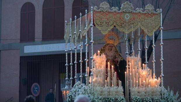La Virgen de la O, el pasado Sábado de Pasión