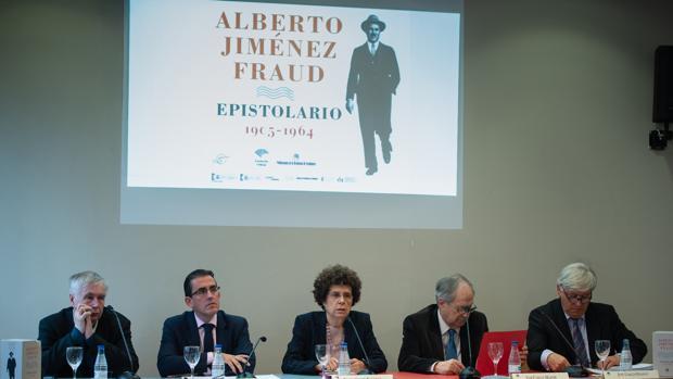 Presentación del epistolario en Madrid