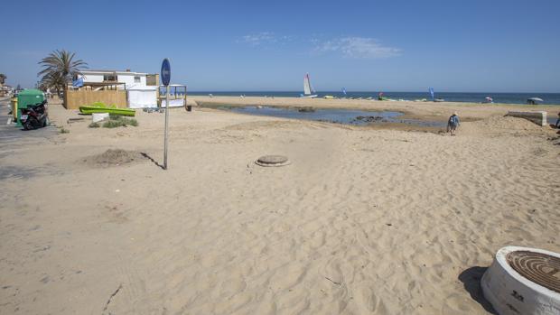 Playa de La Antilla, en Huelva