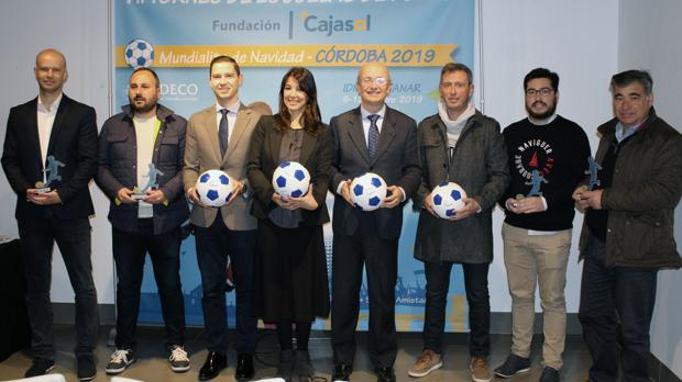 Presentación del torneo en la Fundación Cajasol