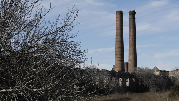 Estado en el que se enuentra el antiguo polígono minero de Peñarroya