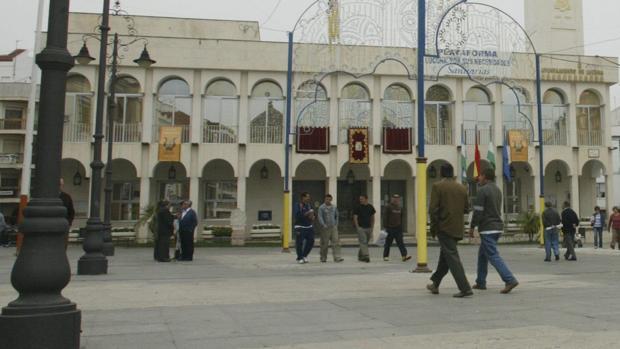 La fachada del Ayuntamiento de Lucena