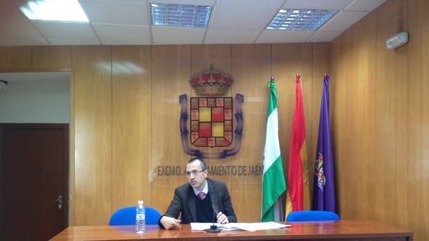 Manuel Bonilla, concejal de Hacienda del Ayuntamiento de Jaén
