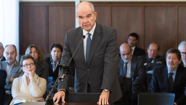 Manuel Chaves, en el juicio del caso ERE
