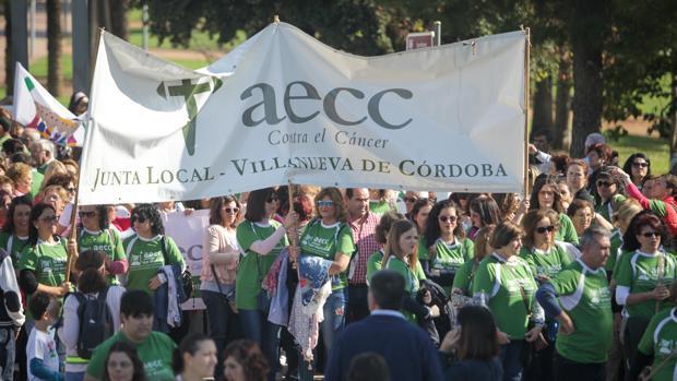 Imagen de archivo de una carrera popular en Córdoba contra el cáncer