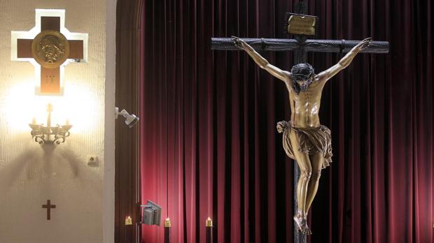 Santísimo de la Confianza de Córdoba en la parroquia de la Inmaculada Concecpción y San Alberto Magno
