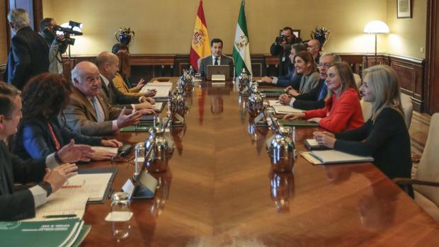 Primer consejo de Gobierno en Sevilla
