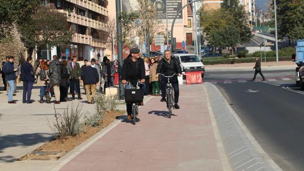 El nuevo carril bici del Marrubial ya está operativo