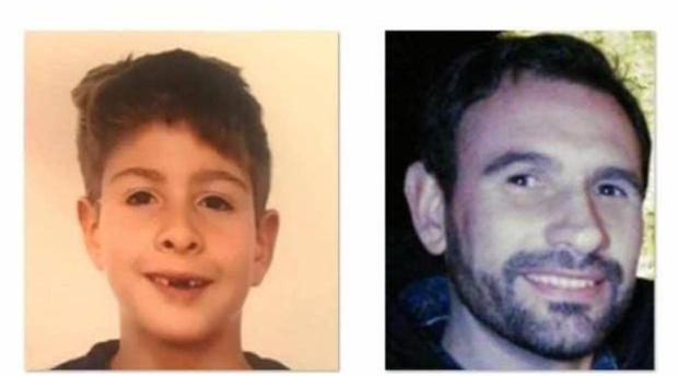 El menor y su padre, ambos desaparecidos