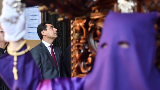 El presidente de la Junta, ayer en Córdoba