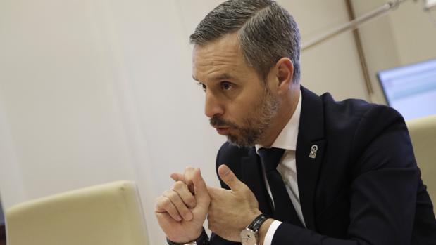 Juan Bravo, consejero de Hacienda, Industria y Energía