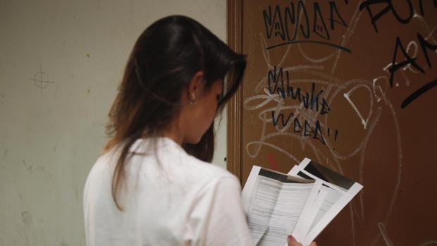 Una joven en una imagen de archivo