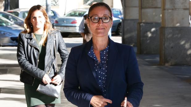 La juez María Núñez Bolaños, instructora del caso ERE