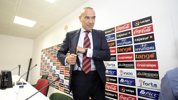 El exdirector deportivo del Córdoba CF, Luis Oliver