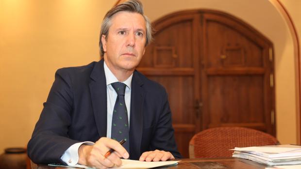 Rafael Centeno, presidente de la sociedad propietaria del Coso de los Califas de Córdoba
