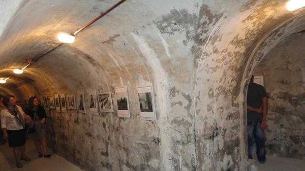 Exposición en uno de los refugios antiaéreos de Jaén