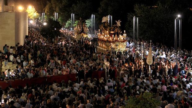 Vía Crucis Magno de la Fe, celebrado en Córdoba el 14 de septiembre del año 2013