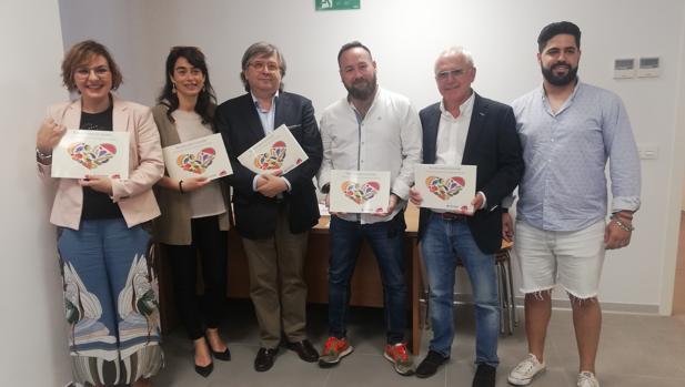 Miembros de la Fundación Juan Cruzado, representantes de Campofrío y chefs participantes del proyecto