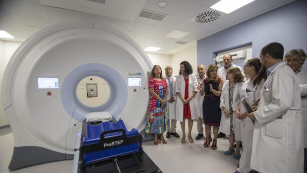 Primer equipo de tomoterapia de Andalucía